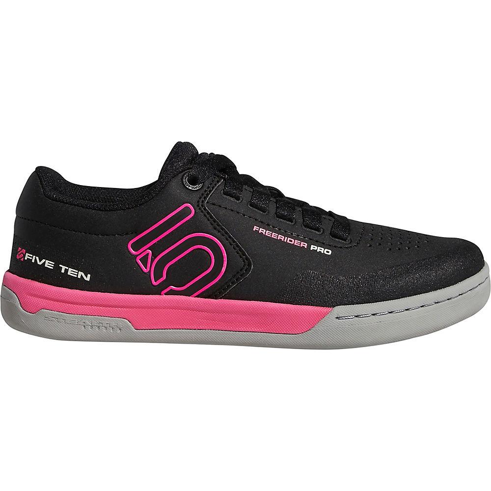 Five Ten Women's Freerider Pro MTB Shoes - Black-Onix-Pink - UK 10, Black-Onix-Pink