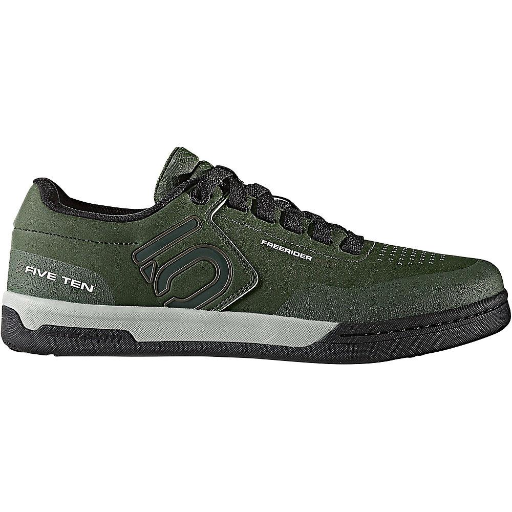 Five Ten Freerider Pro MTB Shoes – Olive-Khaki-Silver – UK 11, Olive-Khaki-Silver