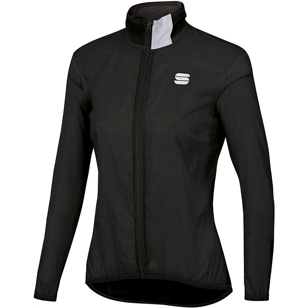 Sportful Womens Hot Pack Easy Light Jacket - Black - Xxl  Black
