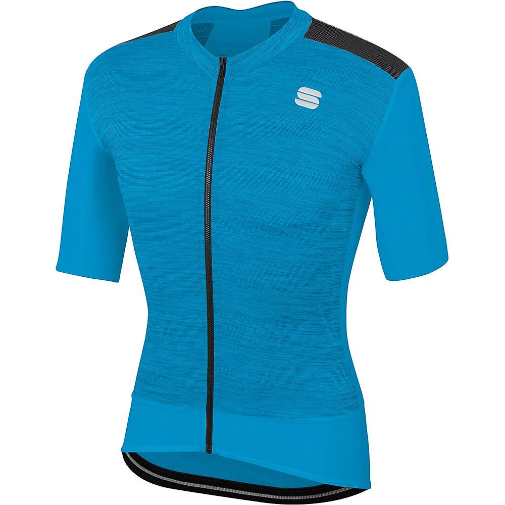 Sportful Super Giara Jersey - Blue Atomic  Blue Atomic