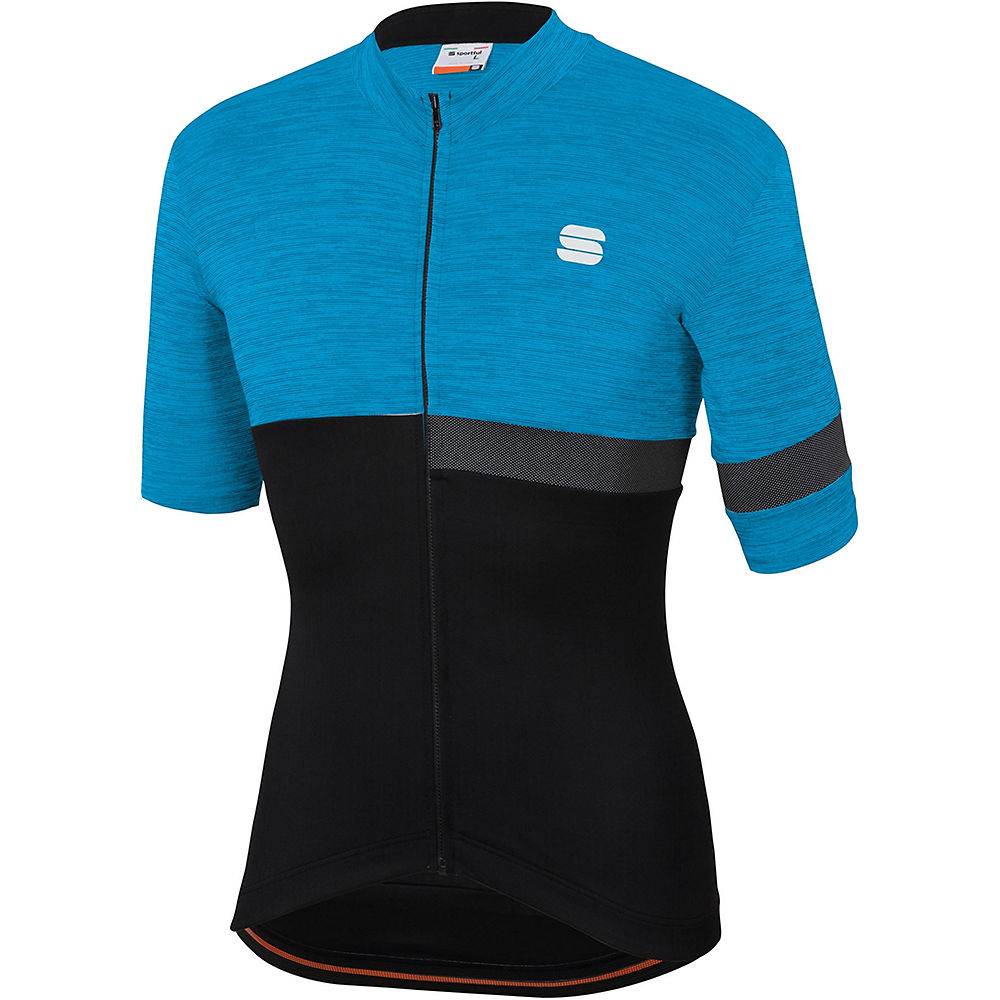 Sportful Giara Jersey - Blue Atomic-black - Xxxl  Blue Atomic-black