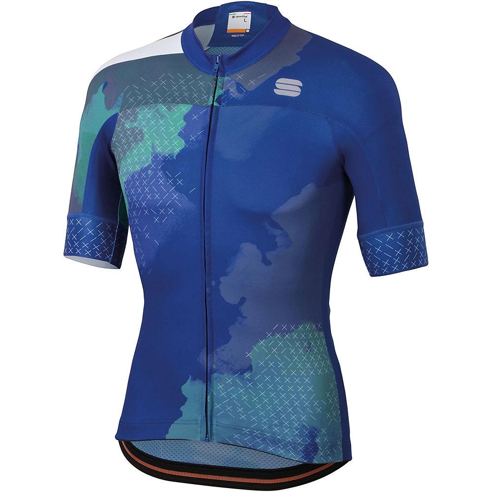 Sportful Bodyfit Team 2.0 Dolomia Jersey  - Blue Cosmic  Blue Cosmic