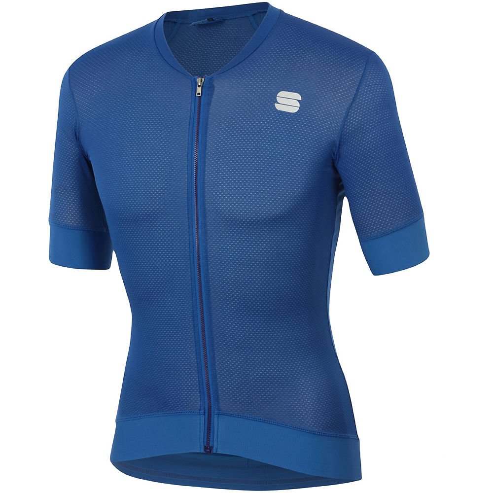 Sportful Monocrom Jersey - Blue Cosmic - Xxxl  Blue Cosmic