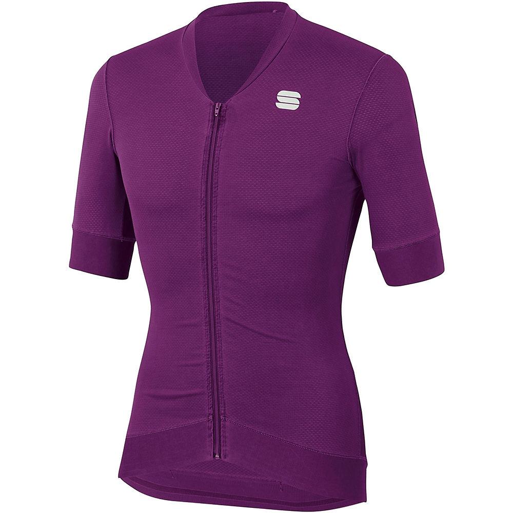 Sportful Monocrom Jersey - Victorian Purple - Xxl  Victorian Purple