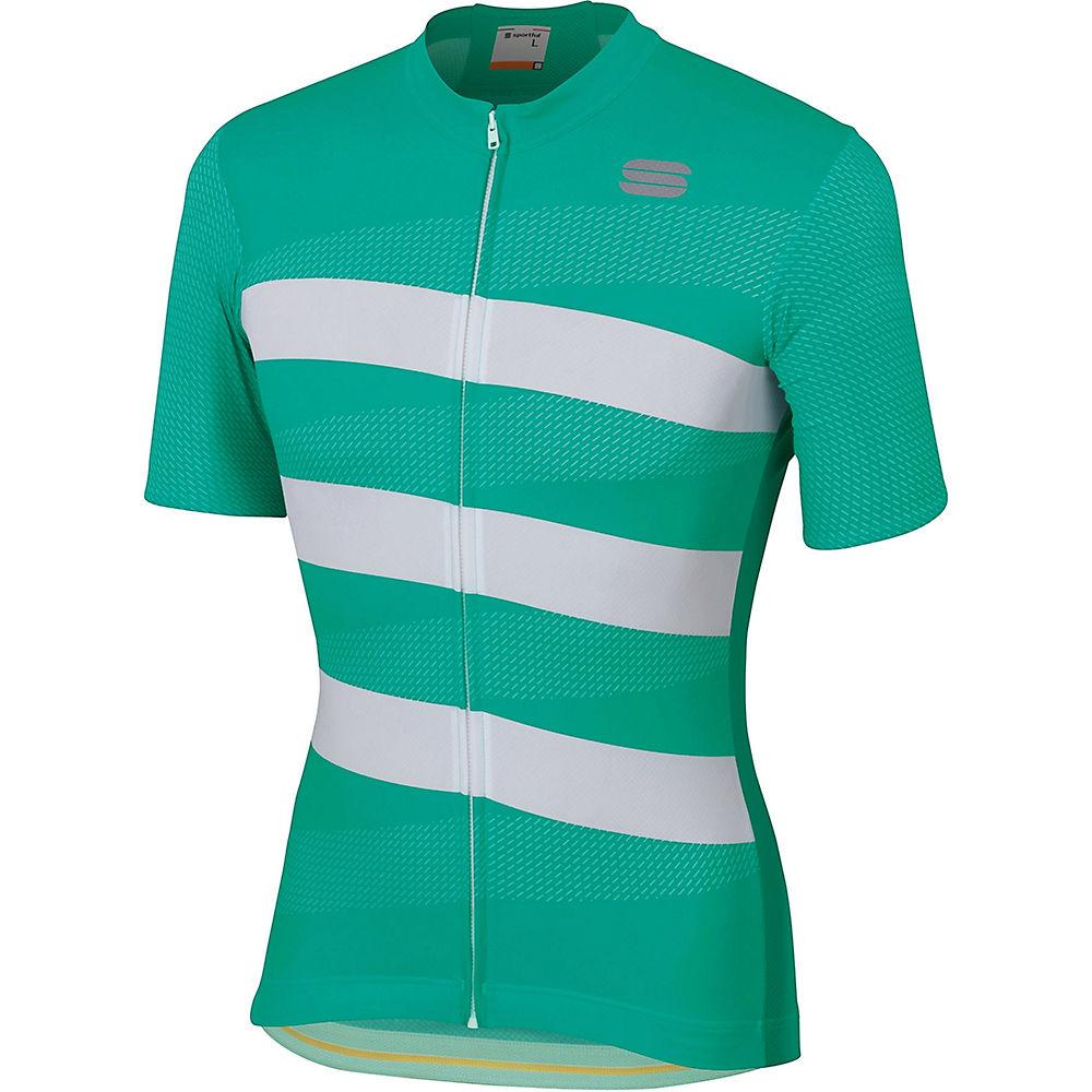 Sportful Team 2.0 Ribbon Jersey  - Bora Green-white - Xxxl  Bora Green-white