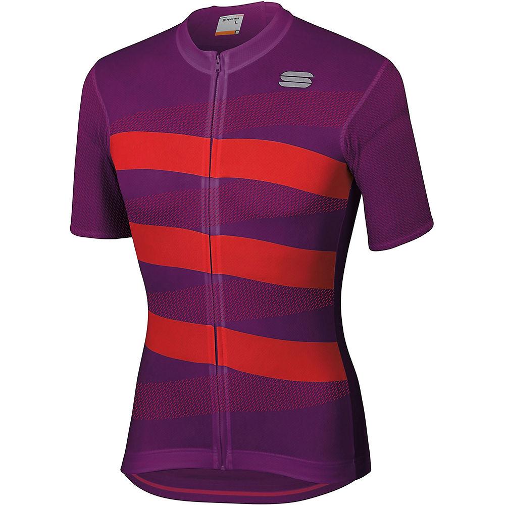 Sportful Team 2.0 Ribbon Jersey  - Victorian Purple-red - Xxl  Victorian Purple-red