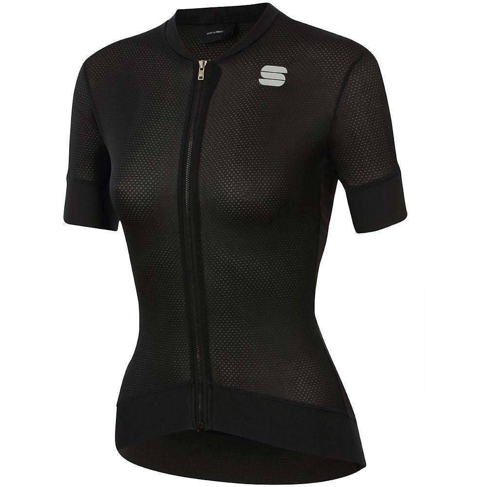 Sportful Womens Monocrom Jersey - Black - Xxl  Black