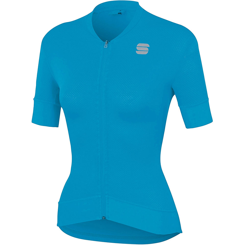 Sportful Womens Monocrom Jersey - Blue Atomic - Xxl  Blue Atomic
