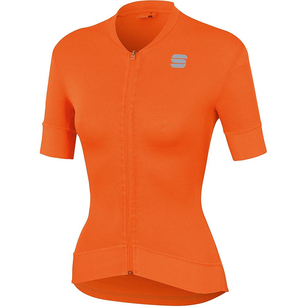 Sportful Womens Monocrom Jersey - Orange Sdr - Xl  Orange Sdr