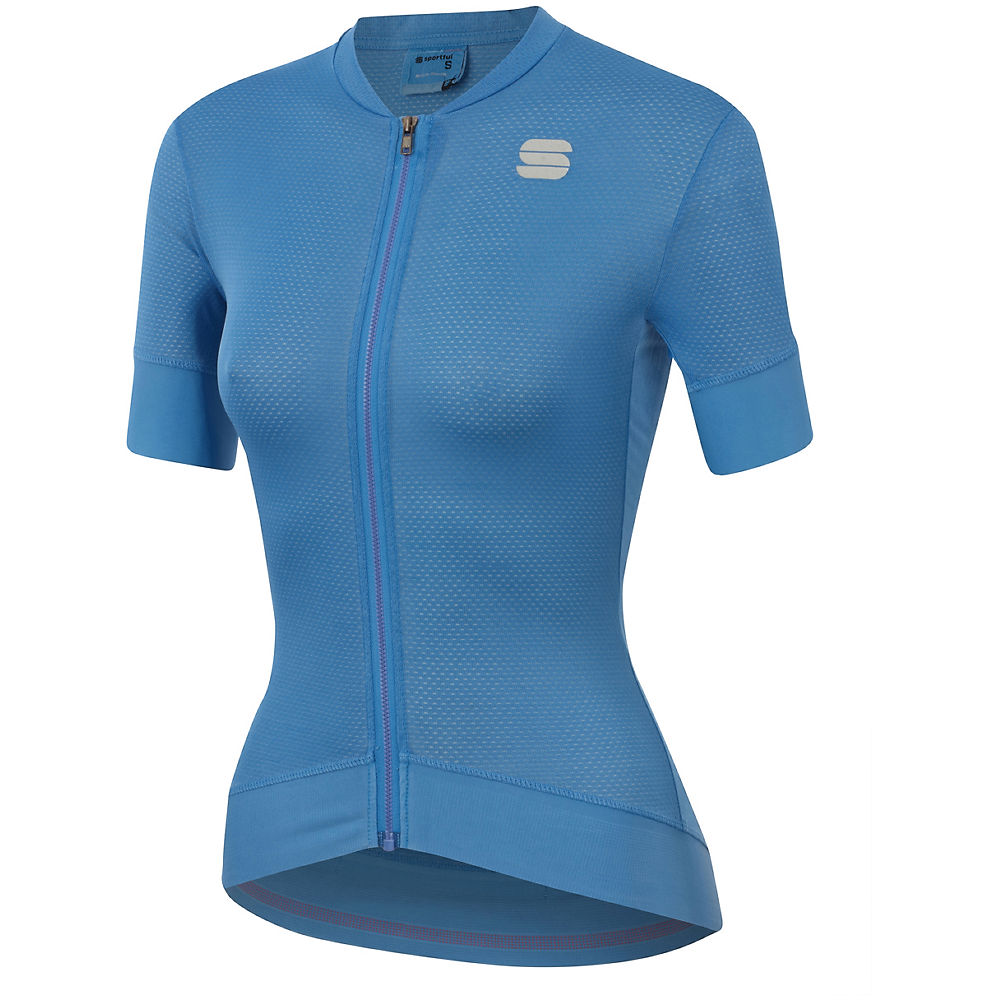 Sportful Womens Monocrom Jersey - Parrot Blue - Xxl  Parrot Blue
