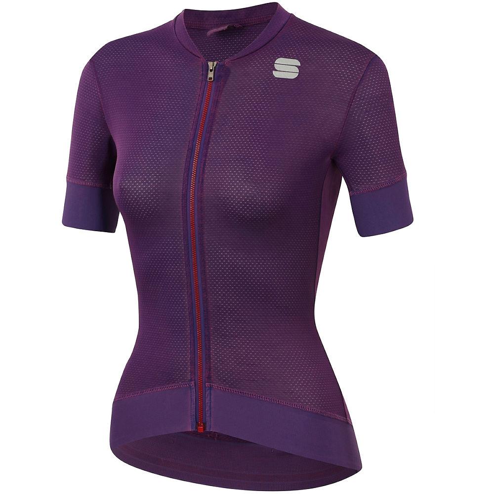 Sportful Womens Monocrom Jersey - Victorian Purple - Xl  Victorian Purple