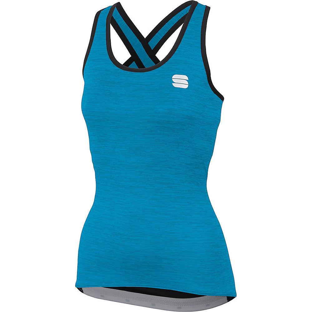 Sportful Womens Giara Top - Blue Atomic  Blue Atomic