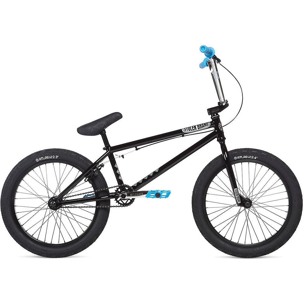 Stolen Heist BMX Bike 2020 - Black - Chrome - Blue - 21