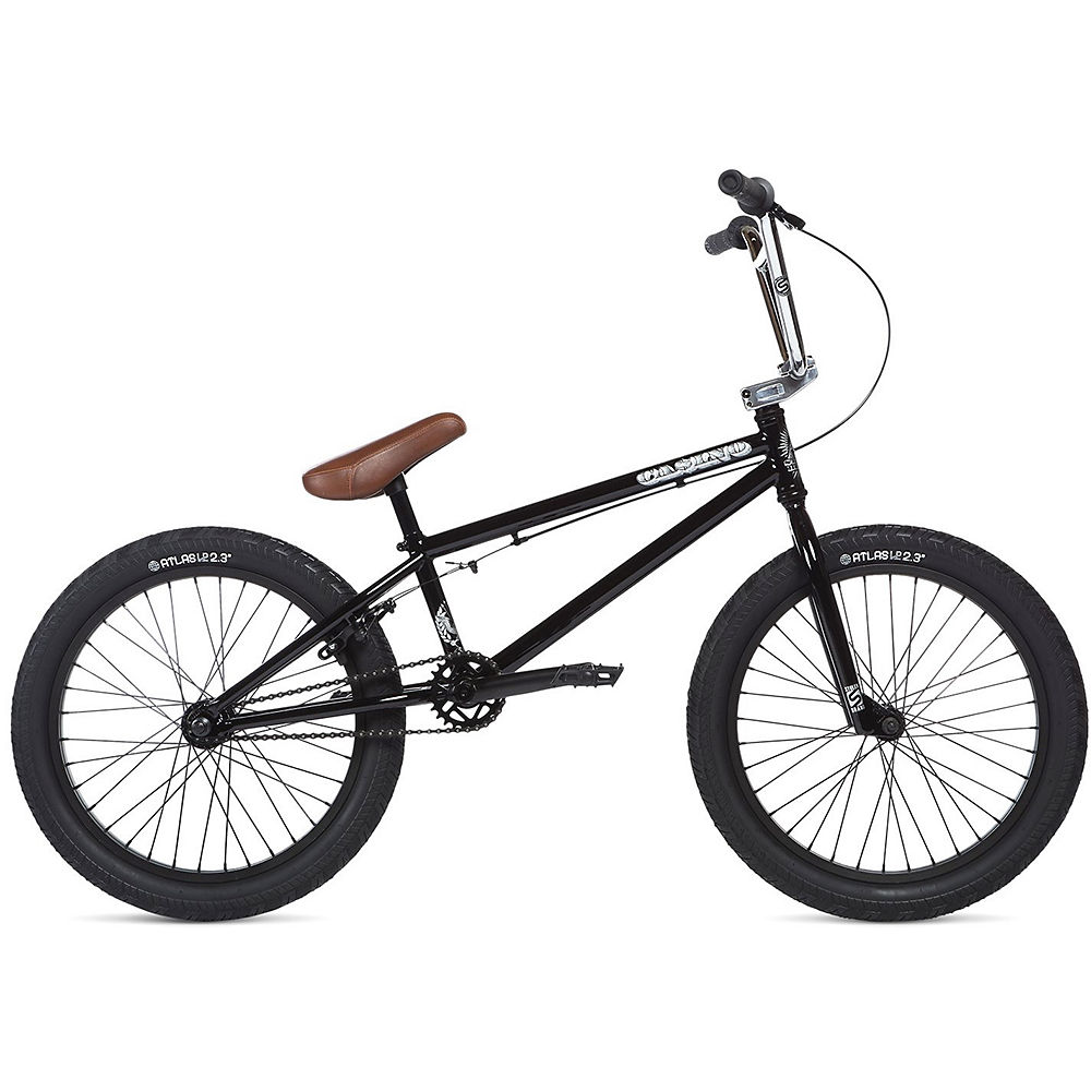 Stolen Casino XS BMX Bike 2020 - Black-Chrome - 19.3