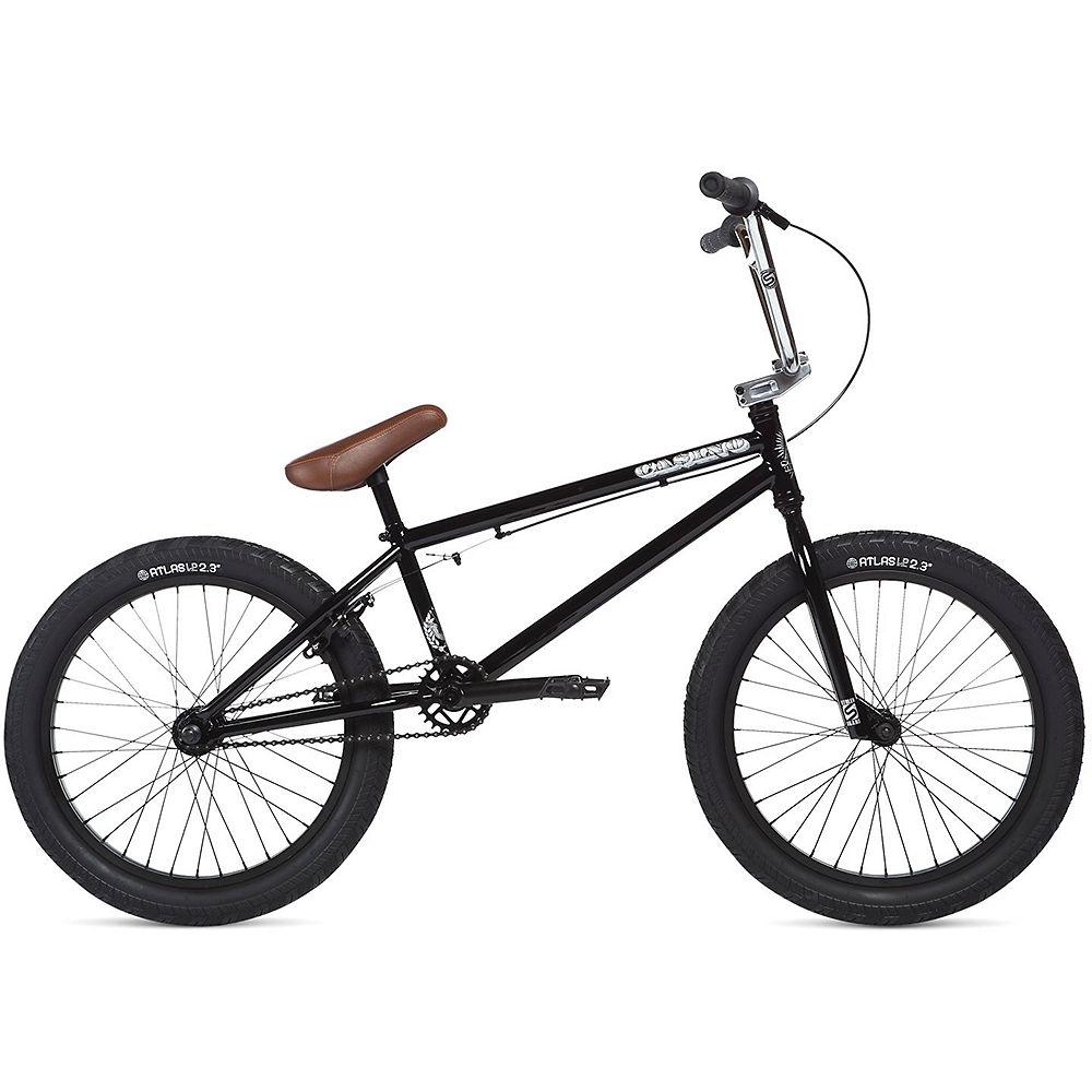 Bici BMX Stolen Casino 2020 - Black-Chrome - 20.25