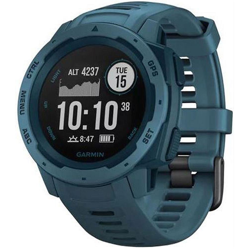 Garmin Instinct GPS Outdoor Watch - Lakeside Blue, Lakeside Blue
