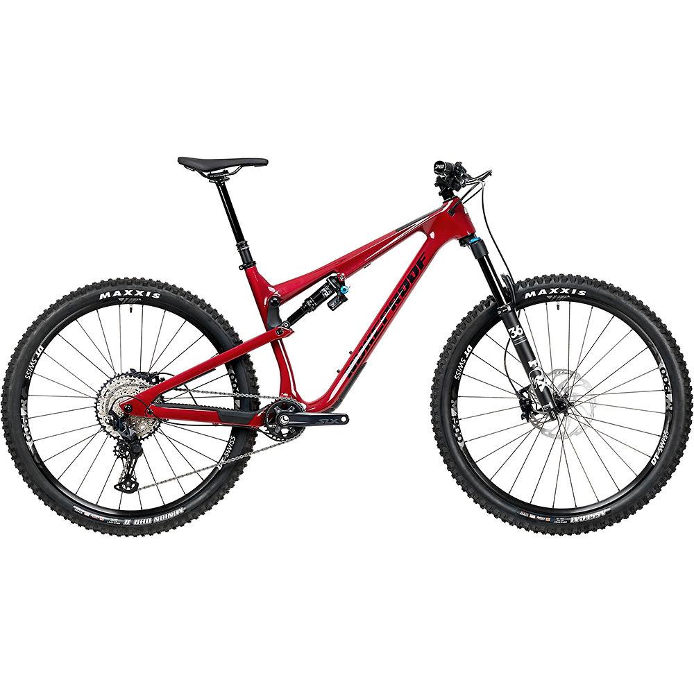 Bicicleta de carbono Nukeproof Reactor 290 Elite (SLX) 2020 - Ron Burgundy - XL, Ron Burgundy