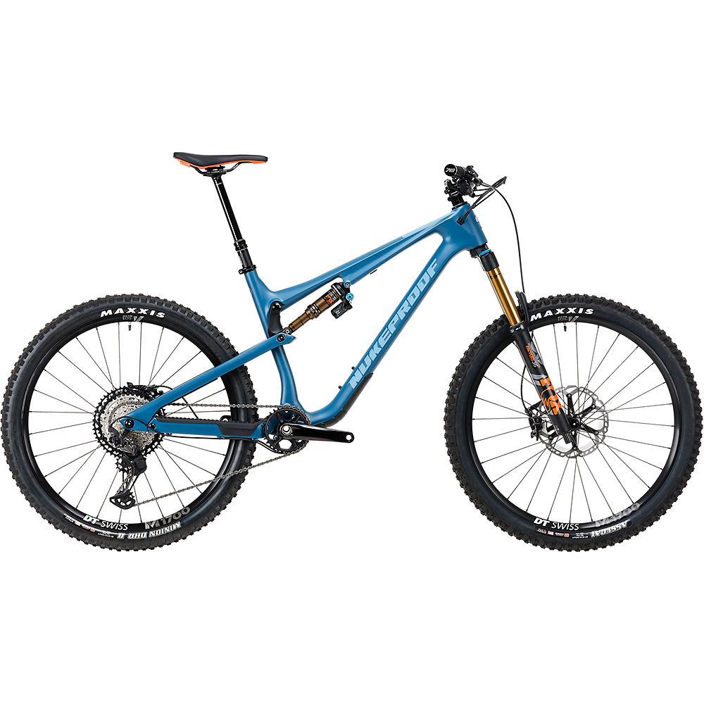 Bicicleta de carbono Nukeproof Reactor 275 Factory (XT) 2020 - Bottle Blue - XL, Bottle Blue