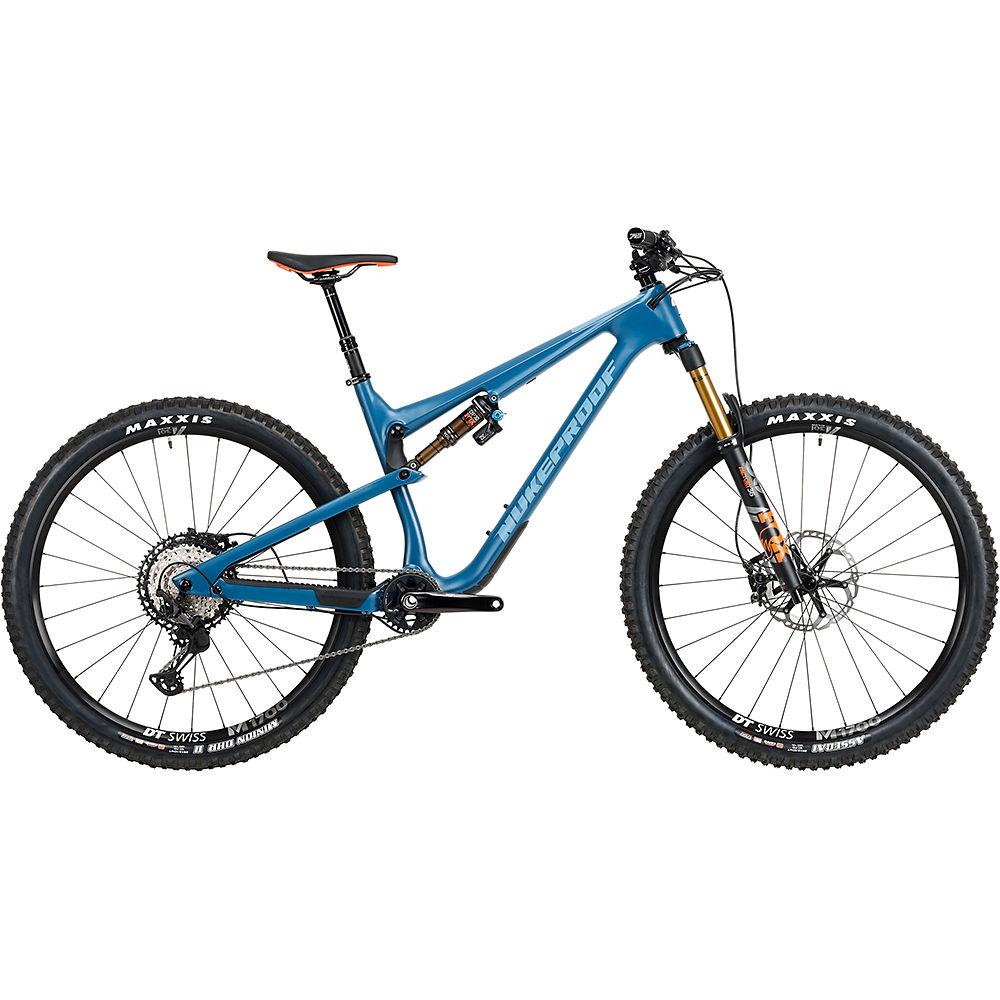 Bicicleta de carbono Nukeproof Reactor 290 Factory Carbon (XT) 2020 - Bottle Blue - XL, Bottle Blue
