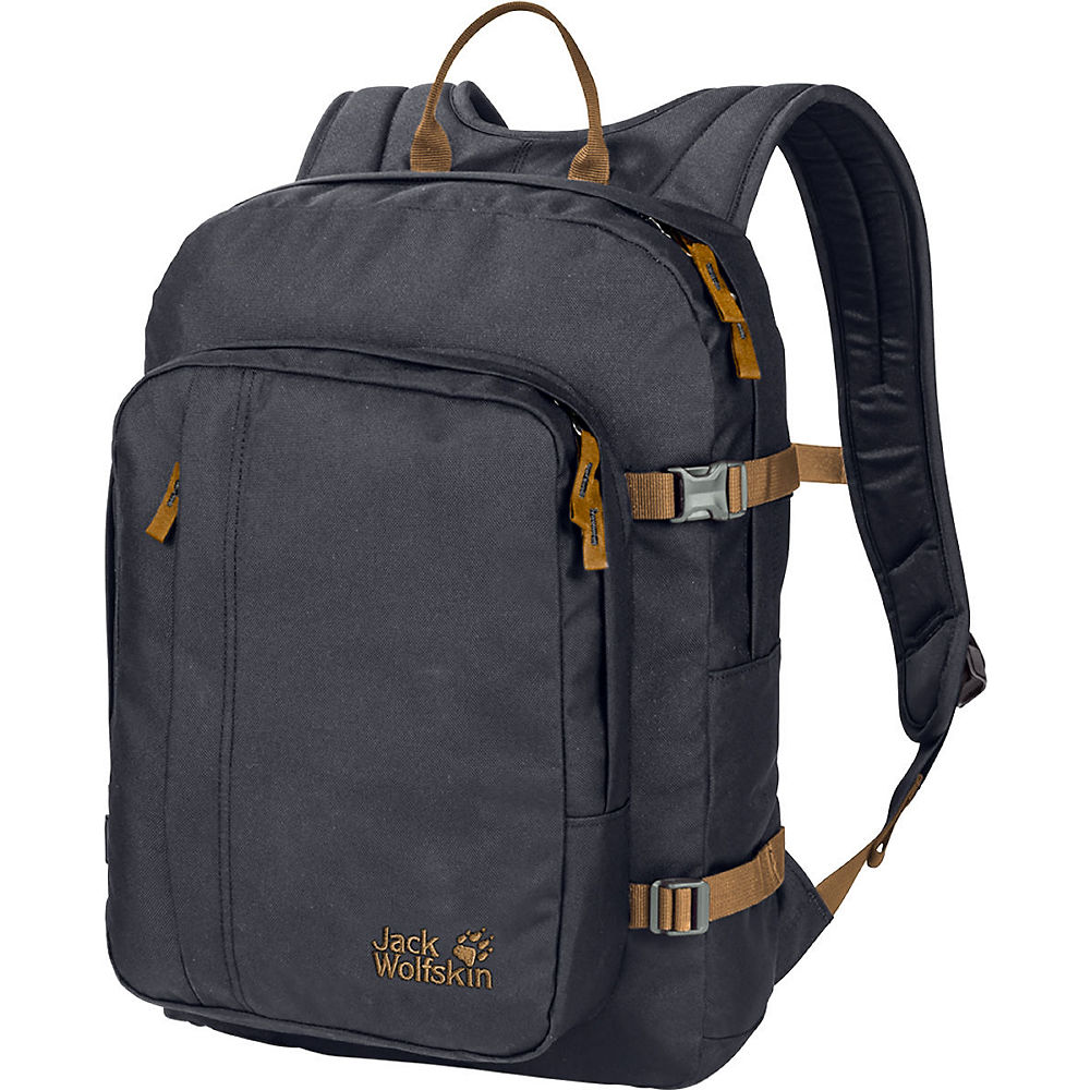 Image of Jack Wolfskin Campus Rucksack - Ebony - One Size, Ebony