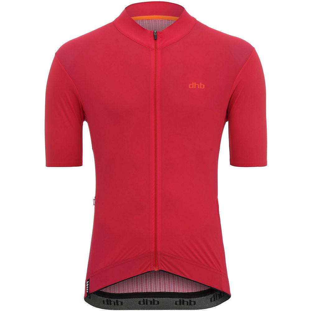 Dhb Aeron Ultra Short Sleeve Jersey - Red - Xs  Red