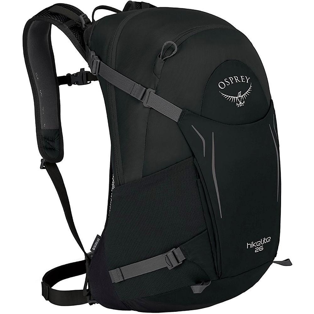 Osprey Hikelite 32 Rucksack  – Black – One Size, Black
