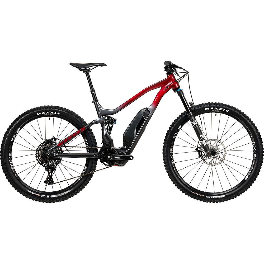 Vitus E-Escarpe VR E-Bike (SX Eagle 1x12) 2020 - Graphite - Burgundy, Graphite - Burgundy