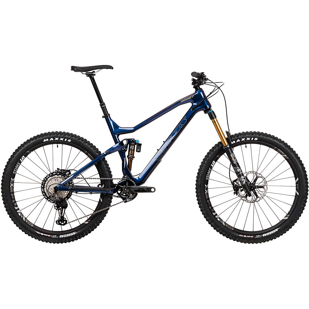Bicicleta Vitus Sommet 27 CRX (XTR / XT 1x12) 2020 - Blurple - XL, Blurple