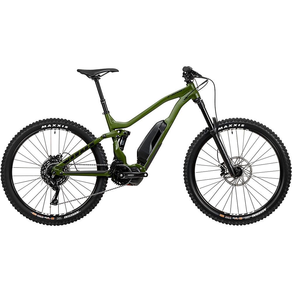 Bici elettrica Vitus E-Sommet (Deore 1x10) 2020 - verde militare