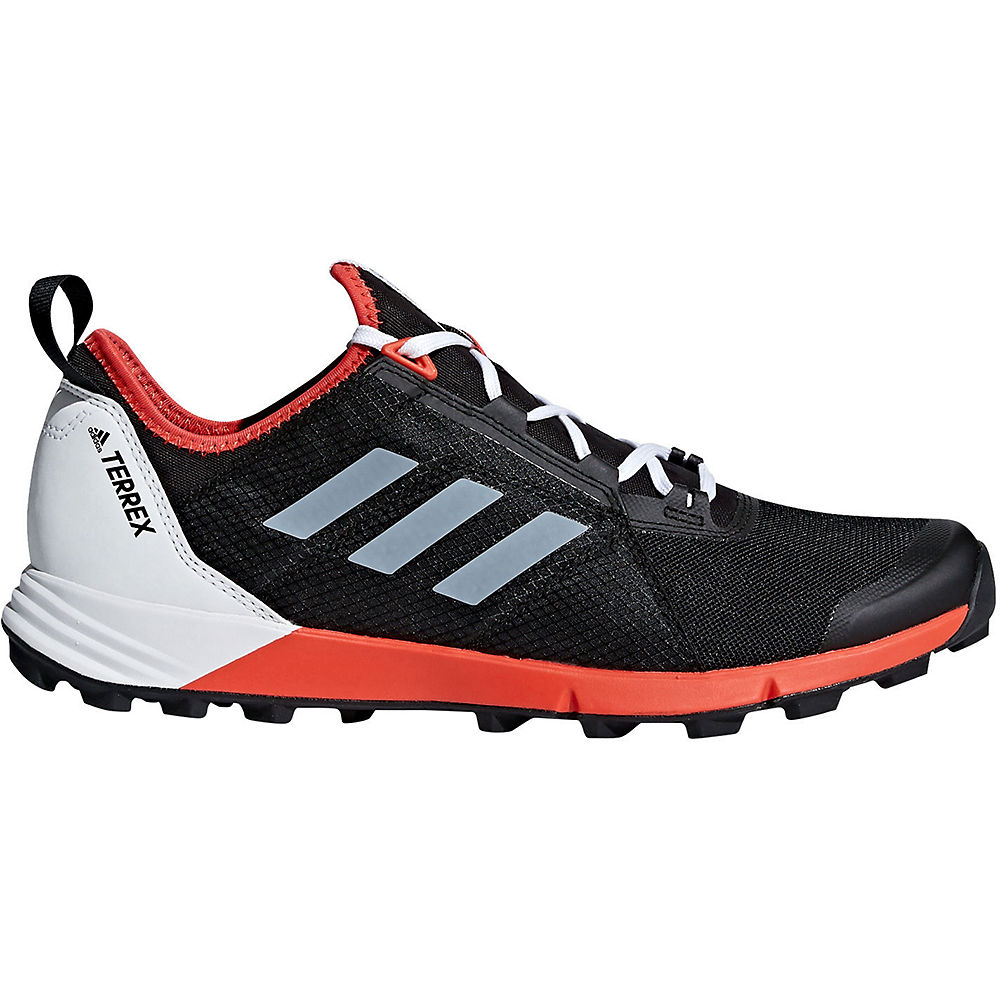Image of adidas Terrex Agravic Speed Shoes - Aqua-Core Black-Orange - UK 10.5, Aqua-Core Black-Orange