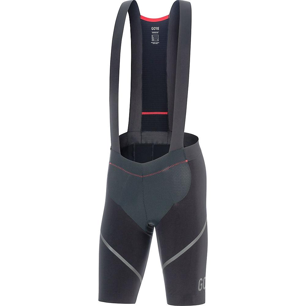 Gore Wear C7 Race Bib Shorts+ - Negro - XXL, Negro
