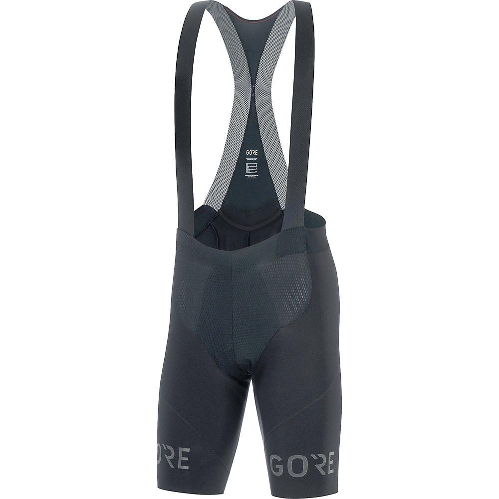 Gore Wear C7 Long Distance Bib Shorts+ - Negro - XL, Negro
