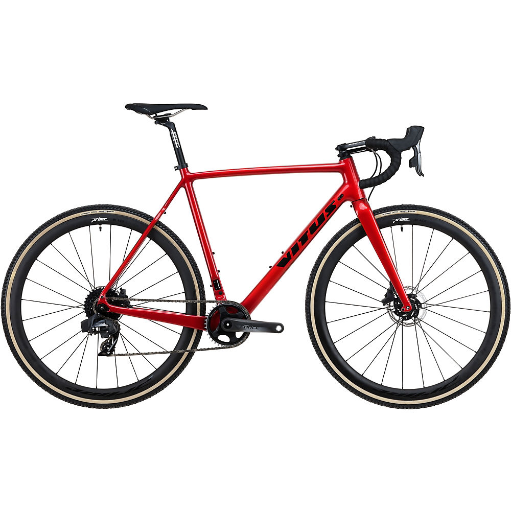Image of Bici da cyclocross Vitus Energie CRX eTap (Force) 2020 - Candy Red, Candy Red