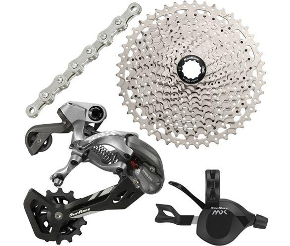 0238185371d SunRace 11 Speed Drivetrain Groupset | Chain Reaction Cycles
