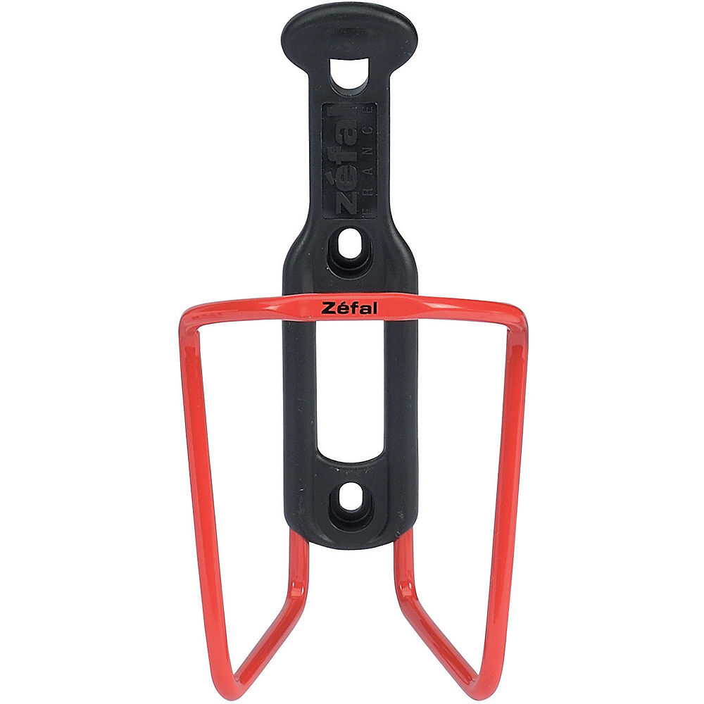 Zefal Aluminium - Plastic Bottle Cage - Rojo, Rojo