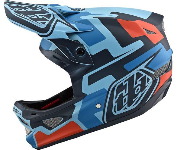 Troy Lee Designs Helmet >> Troy Lee Designs D3 Fiberlite Helmet Speedcode Chain Reaction Cycles