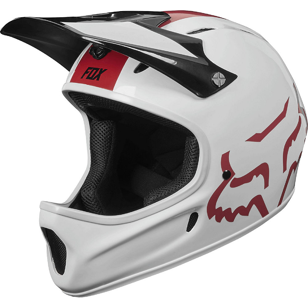 Fox Racing Rampage Helmet  – White – S, White
