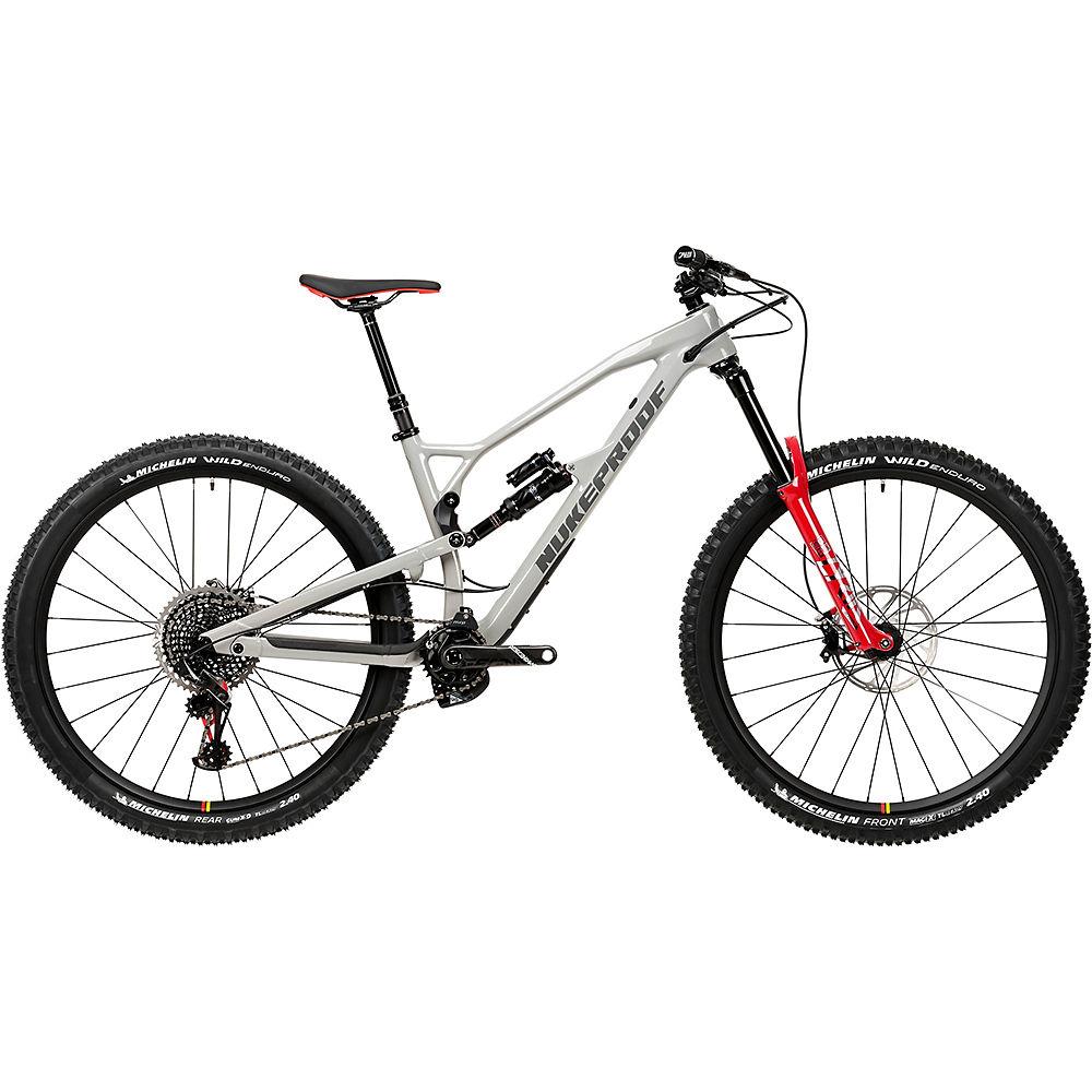Bicicleta de carbono Nukeproof Mega 290 RS (XO1 Eagle) 2020 - Concrete Grey, Concrete Grey