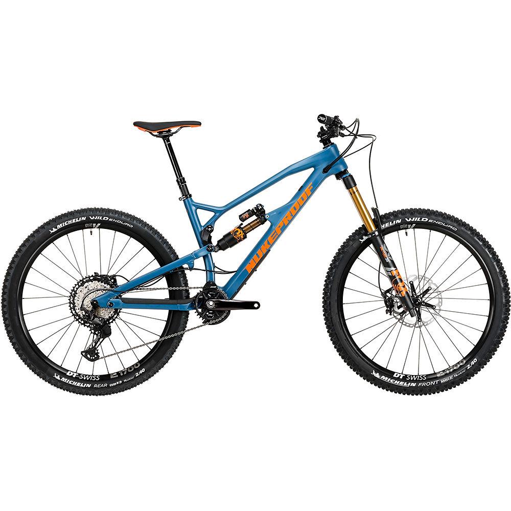 Bici in carbonio Nukeproof Mega 275 Factory (XT) 2020 - Bottle Blue - S
