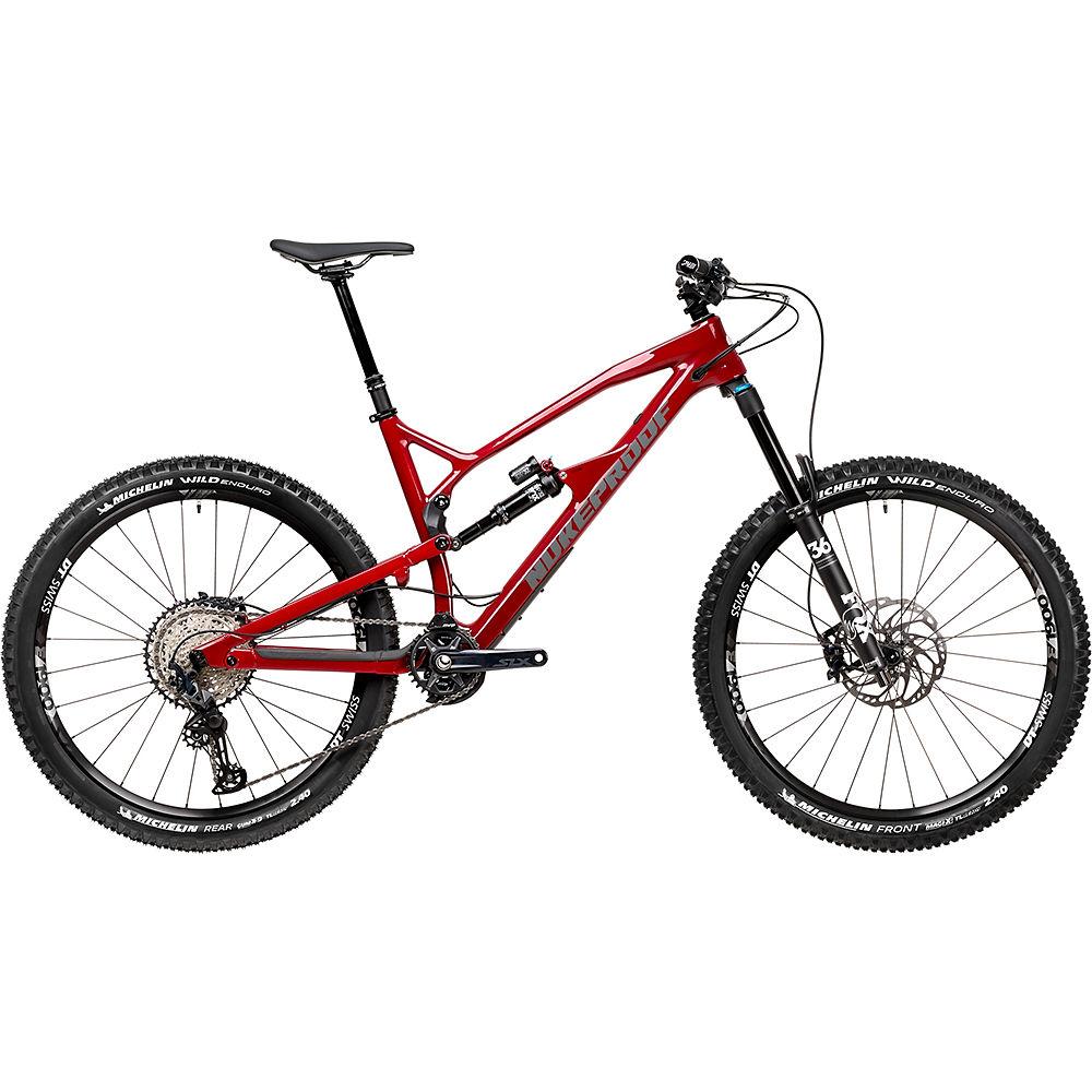 Bici in carbonio Nukeproof Mega 275 Elite (SLX) 2020 - Ron Burgundy - ML