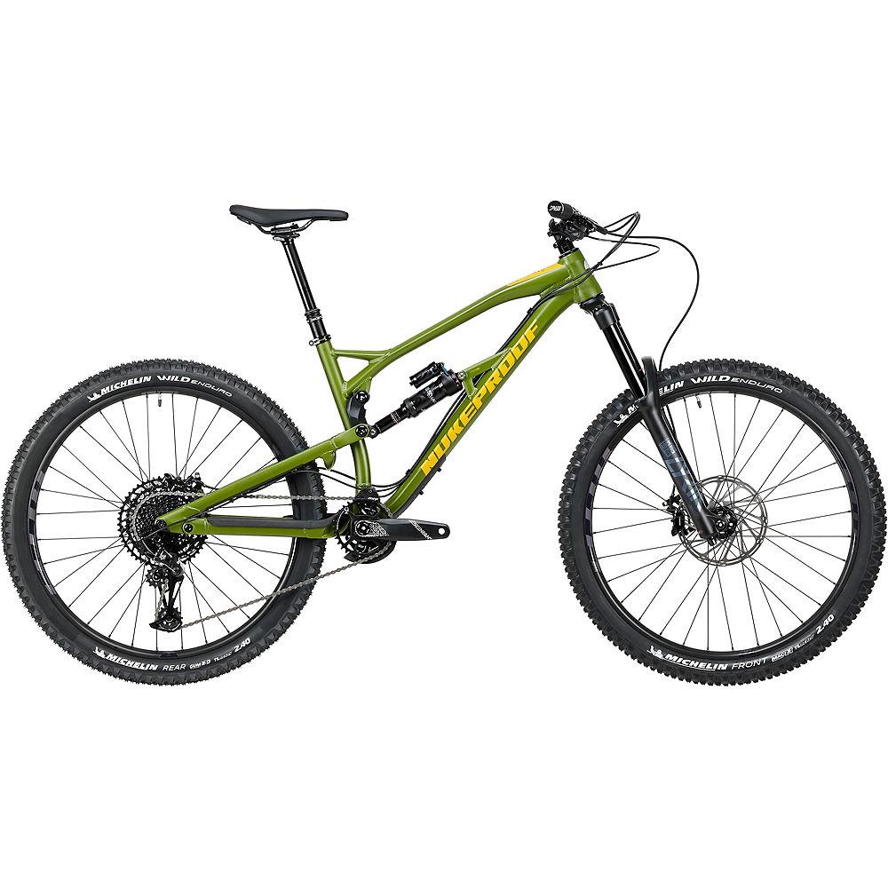 Bici in lega Nukeproof Mega 275 Expert (NX Eagle) 2020 - verde militare - XL