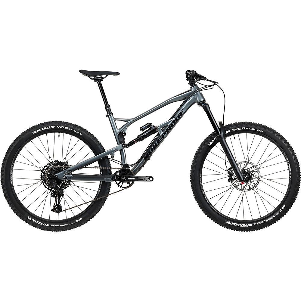 Bicicleta de aleación Nukeproof Mega 275 Comp (SX Eagle) 2020 - Metallic Grey, Metallic Grey