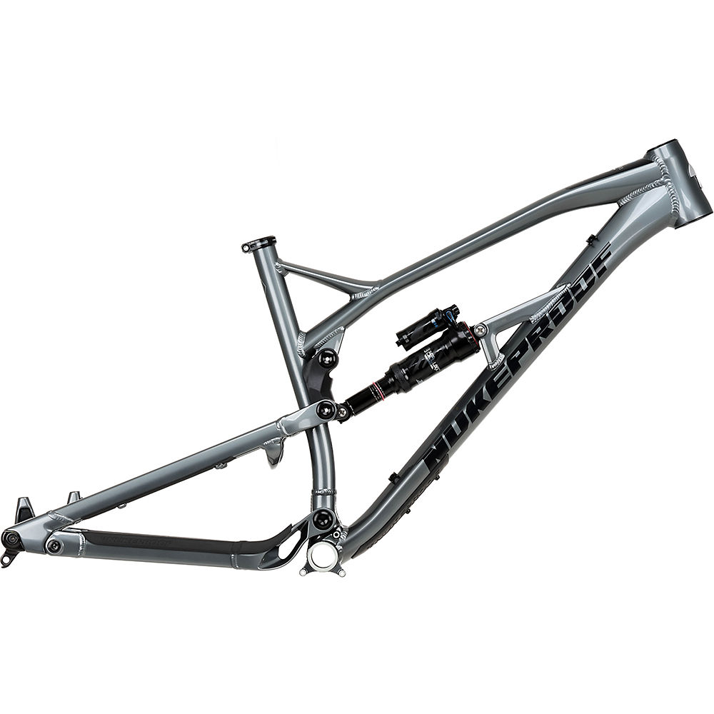Nukeproof Mega 275 Alloy Mountain Bike Frame 2020 – Metallic Grey – ML, Metallic Grey
