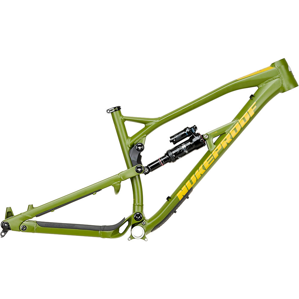 Image of Nukeproof Mega 275 Alloy Mountain Bike Frame 2020 - Military Green - S, Military Green