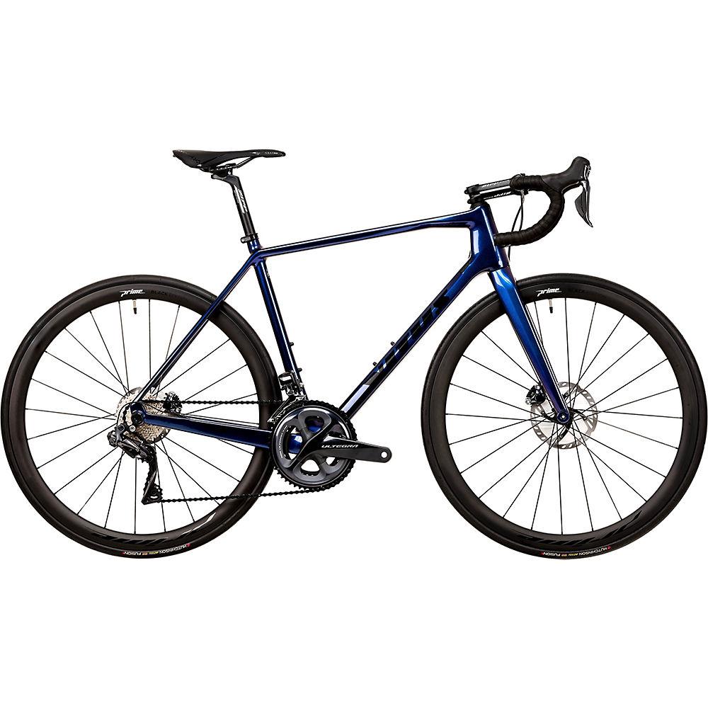 Bici da strada Vitus Vitesse EVO CRS Di2 (Ultegra) 2020 - Blue Chameleon - XXL