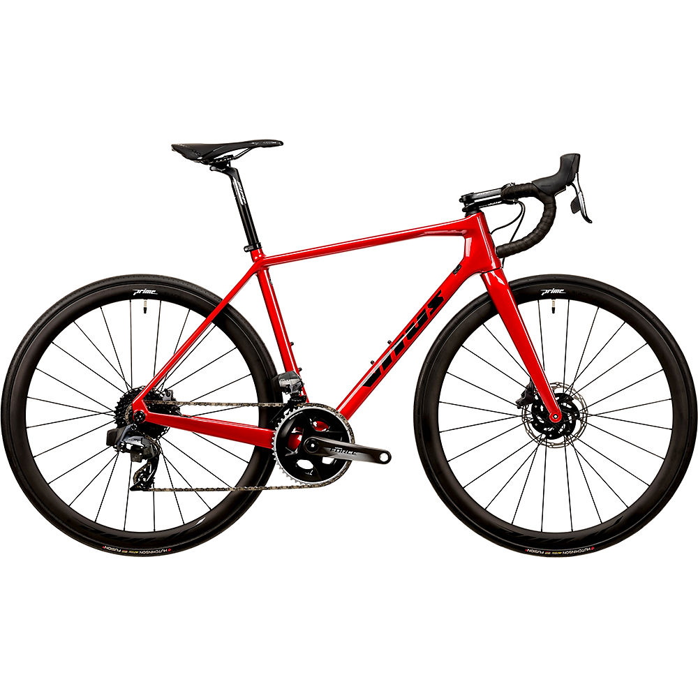 Vitus Vitesse EVO TEAM eTap Road Bike (Force) 2020 - Red - XXL, Red