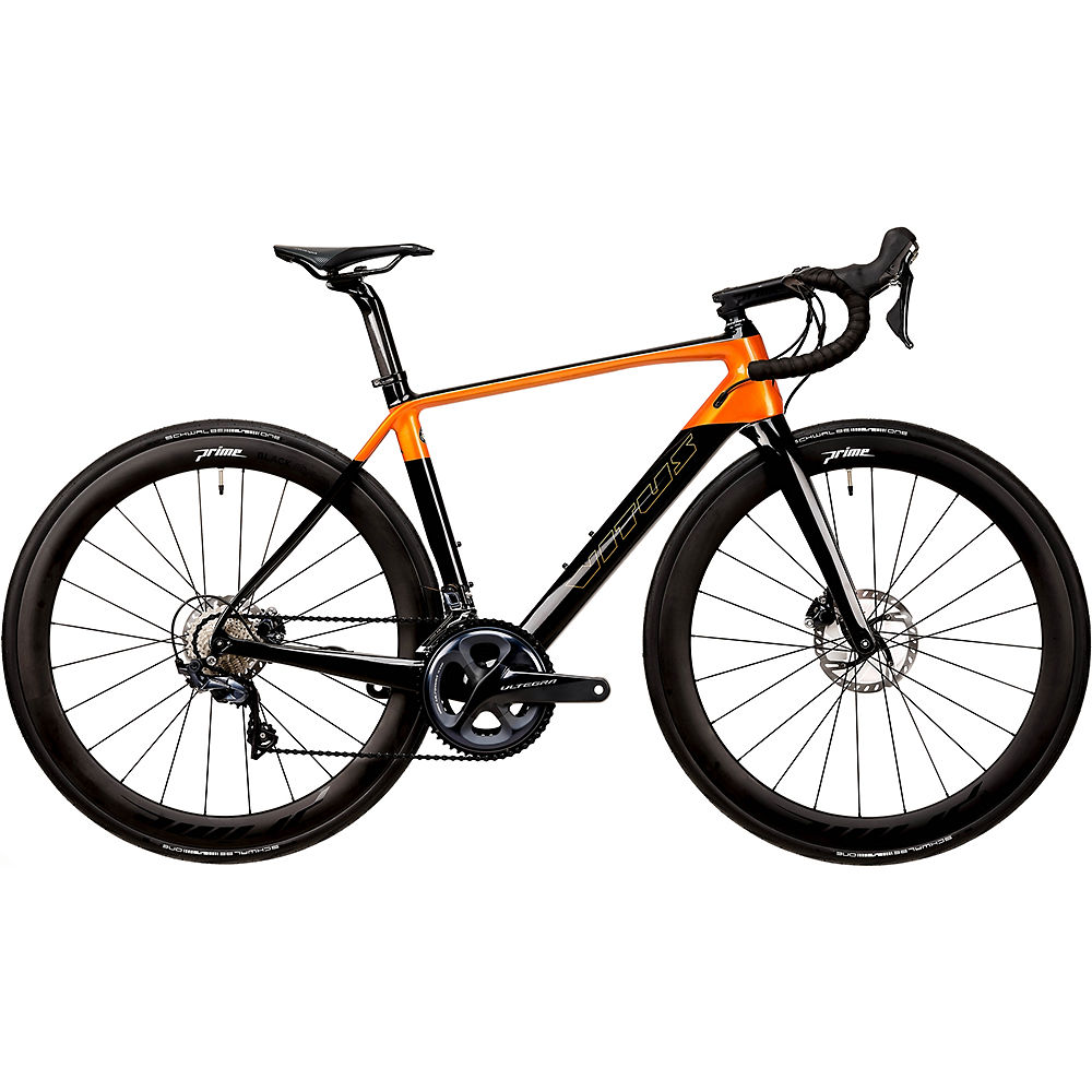 Bici da strada Vitus ZX1 CRS (Ultegra) 2020 - Carbon-Fire Chameleon - XS