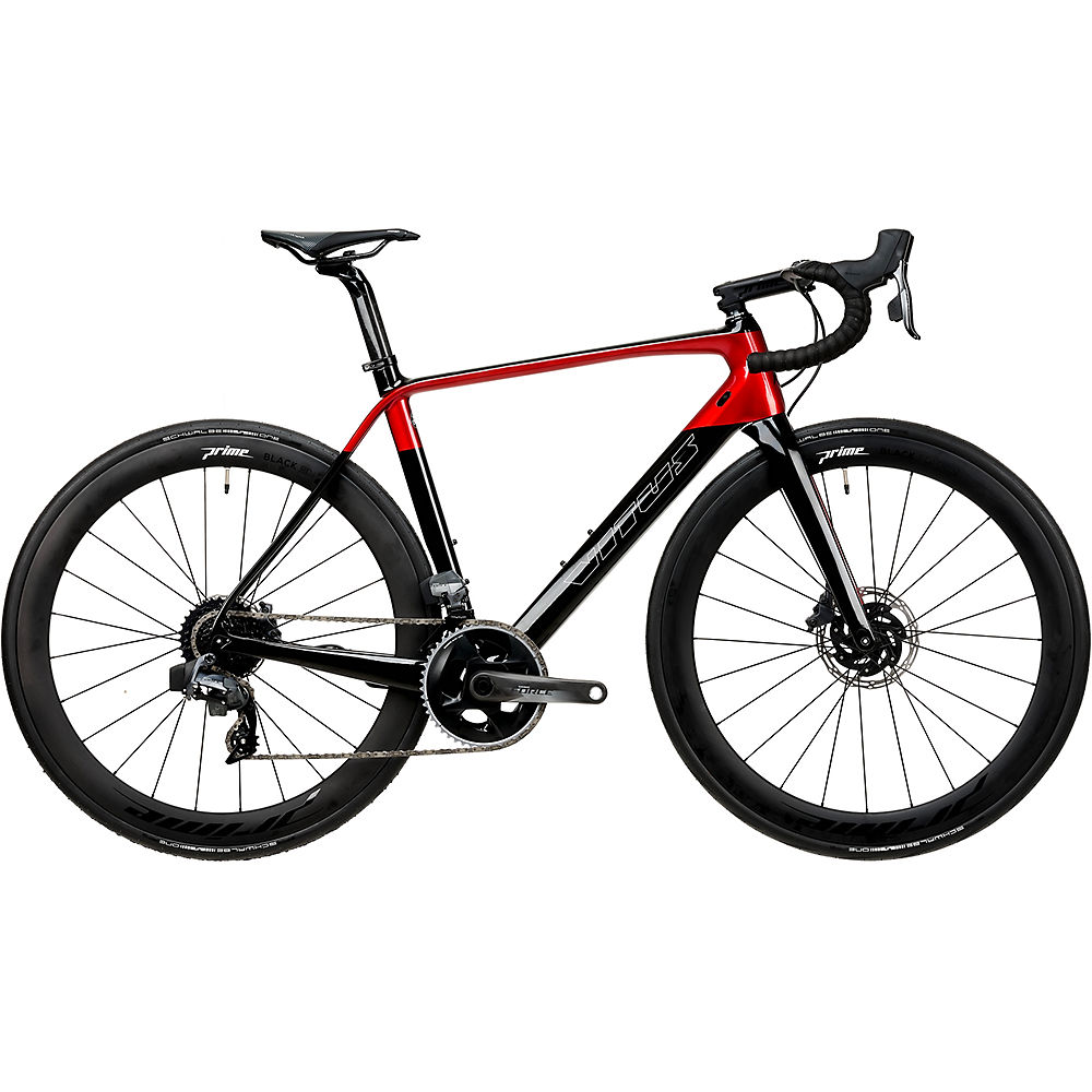 Image of Bici da strada Vitus ZX1 Team (Force eTap) 2020 - Carbon-Red - L, Carbon-Red