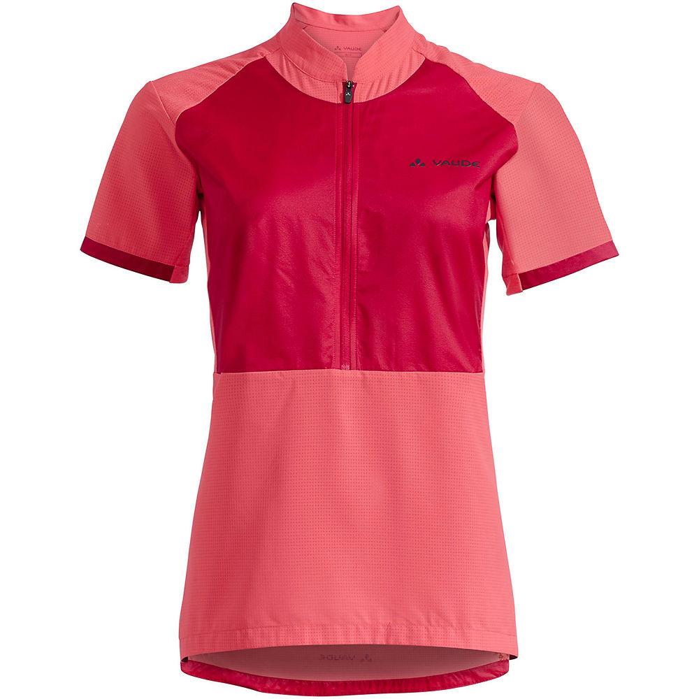 Vaude Women's eMoab Shirt  - Crimson Red - XS