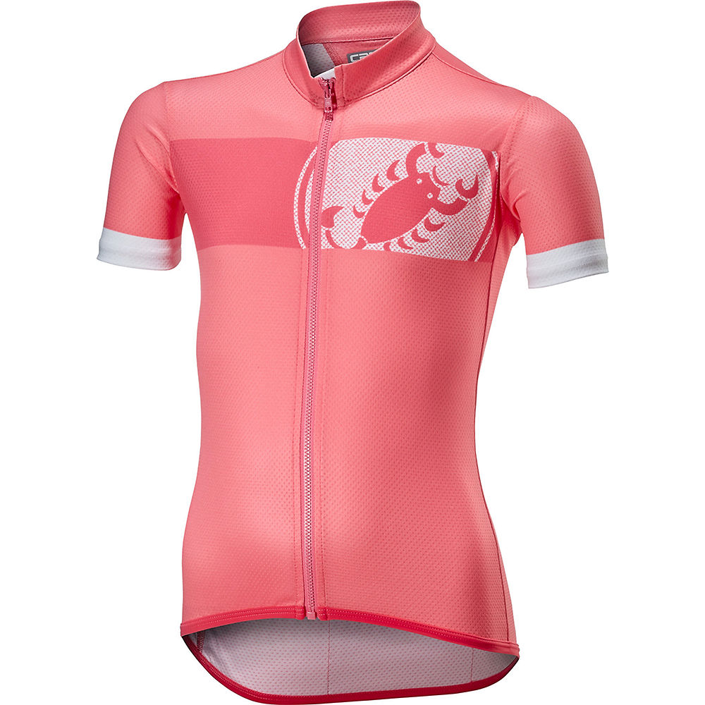 Castelli Future Racer Kid Jersey  - Pink - 12-13 Years, Pink